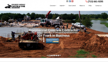 concrete contractor houston